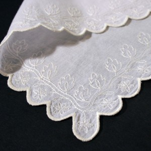 Historical embroidery designs - handkerchiefs and fichus