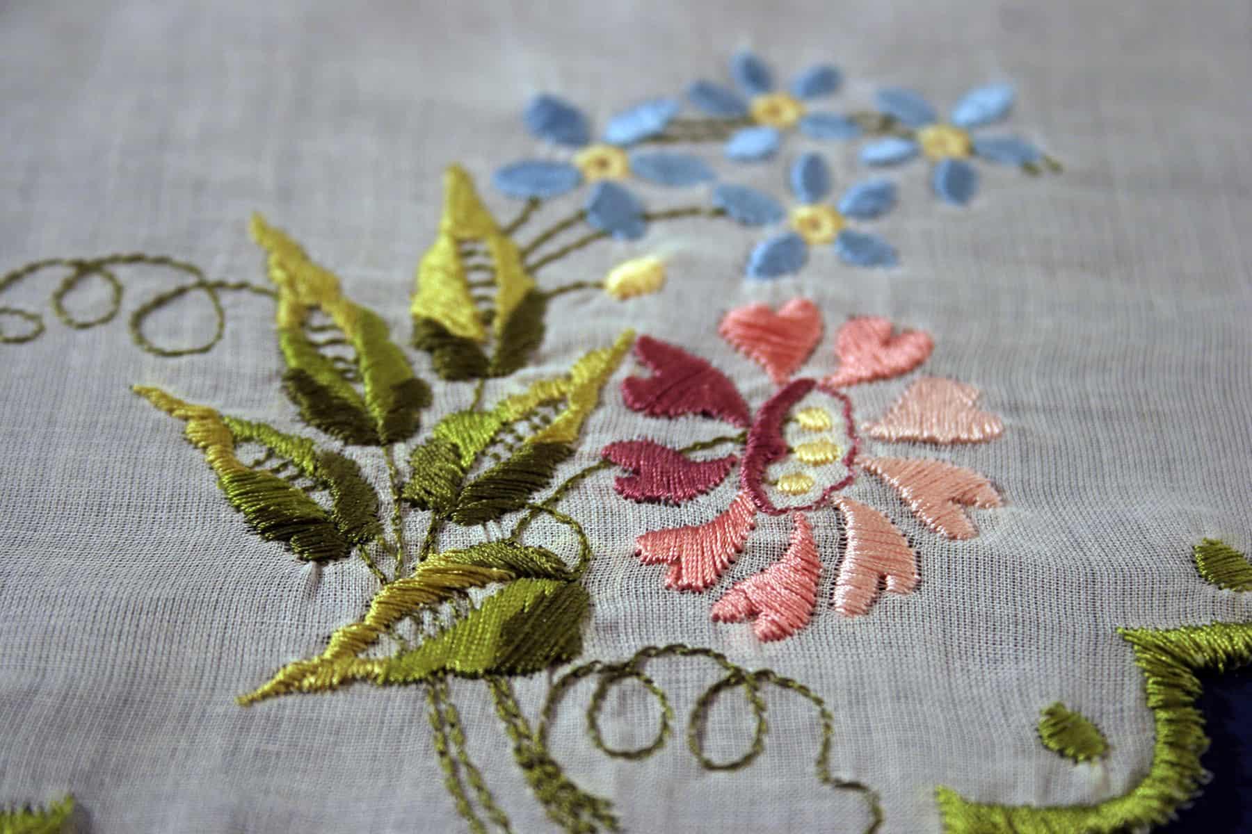 Silk cutwork