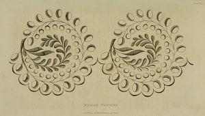 June 1823 Eyelet Border