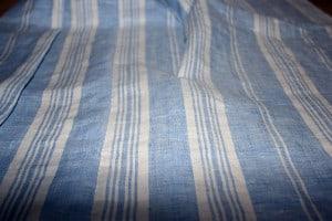 Tucked Linen Fabric