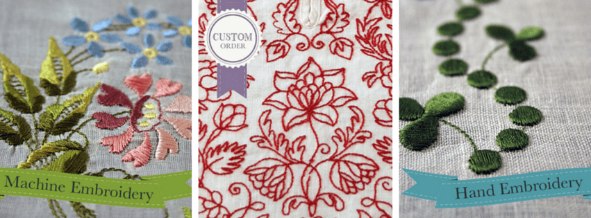Historical hand embroidery patterns