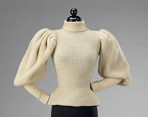 Leg-of-Mutton Sleeve Sweater from the Met