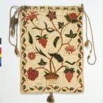 Early 18th c work bag