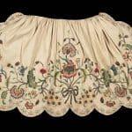 Mid-18th c apron