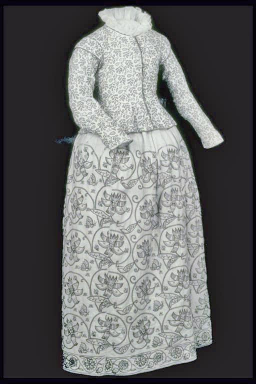 Early 1600s jacket and skirt