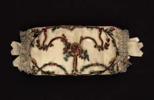 Silk chenille embroidery